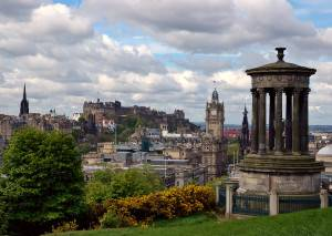Panorama of Edinburgh (summertime view)